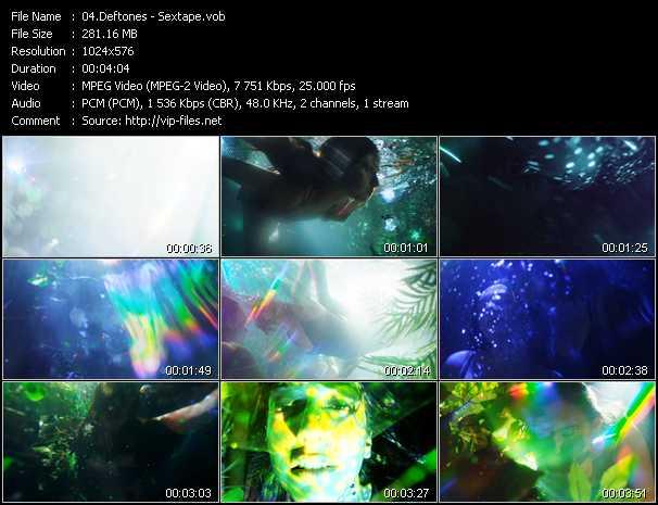 Deftones video - Sextape