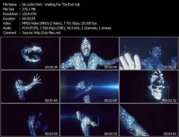 Linkin Park video - Waiting For The End