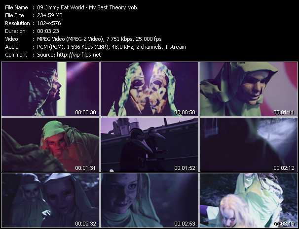 Jimmy Eat World video - My Best Theory