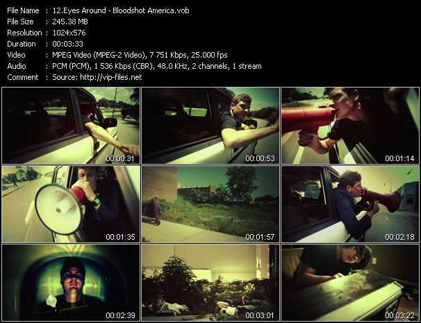 Eyes Around video - Bloodshot America