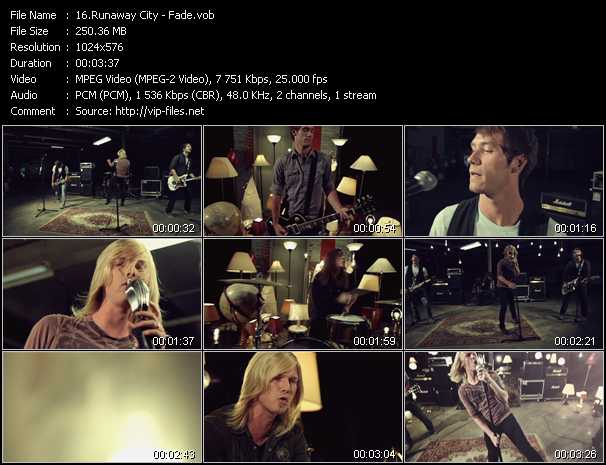 Runaway City video - Fade