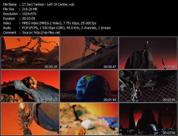 Serj Tankian video - Left Of Center