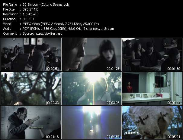 Simoom video - Cutting Seams