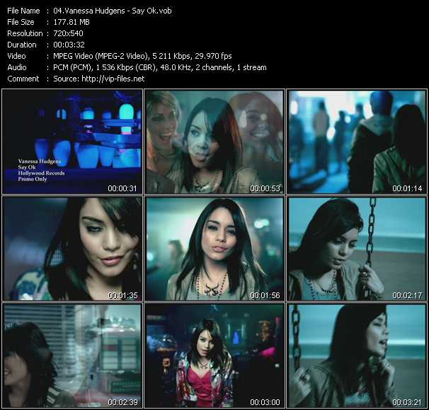 Vanessa Hudgens music video Publish2