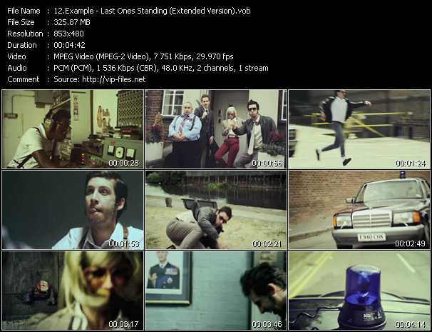 Example video - Last Ones Standing (Extended Version)