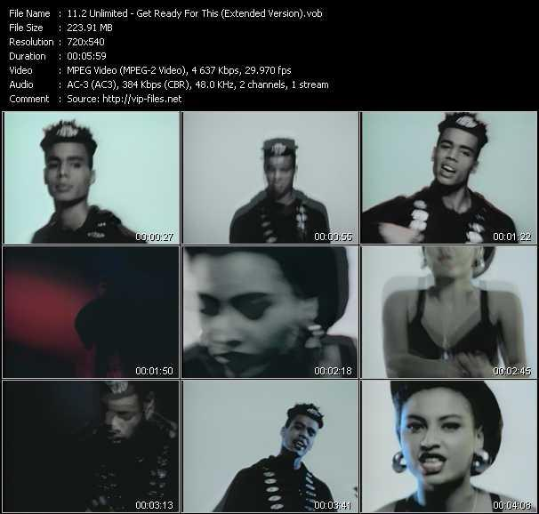 2 Unlimited video - Get Ready For This (Extended Version)