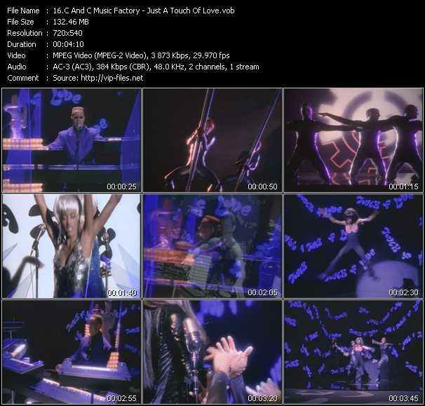 C And C Music Factory video - Just A Touch Of Love