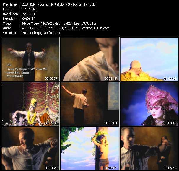 R.E.M. video - Losing My Religion (ETV Bonus Mix)