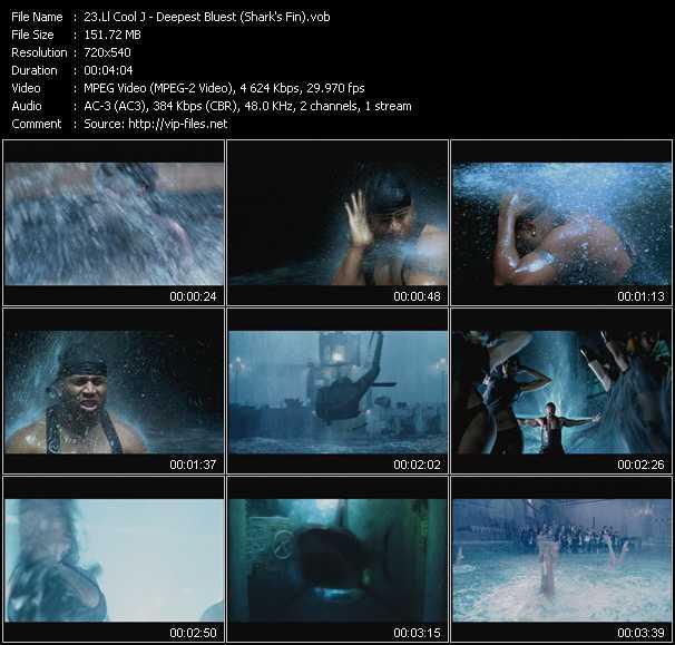 LL Cool J video - Deepest Bluest (Shark's Fin)
