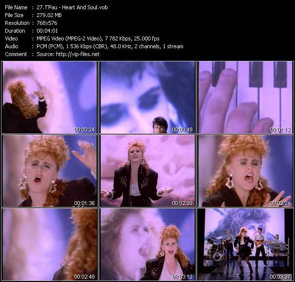 T'Pau video - Heart And Soul