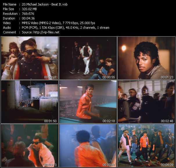 Michael Jackson Video Beat It