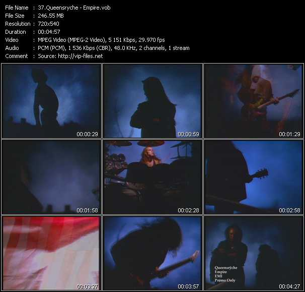 Queensryche music video Publish2