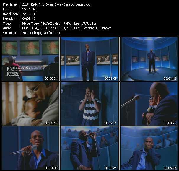 R. Kelly And Celine Dion music video Publish2