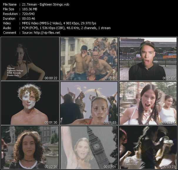 Tinman video - Eighteen Strings