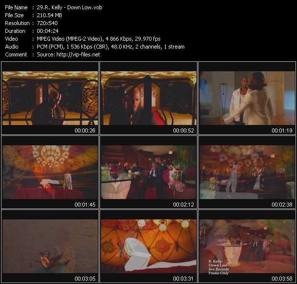 R. Kelly video - Down Low