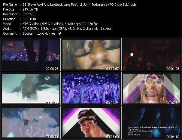 Steve Aoki And Laidback Luke Feat  Lil' Jon «Turbulence (PO Intro
