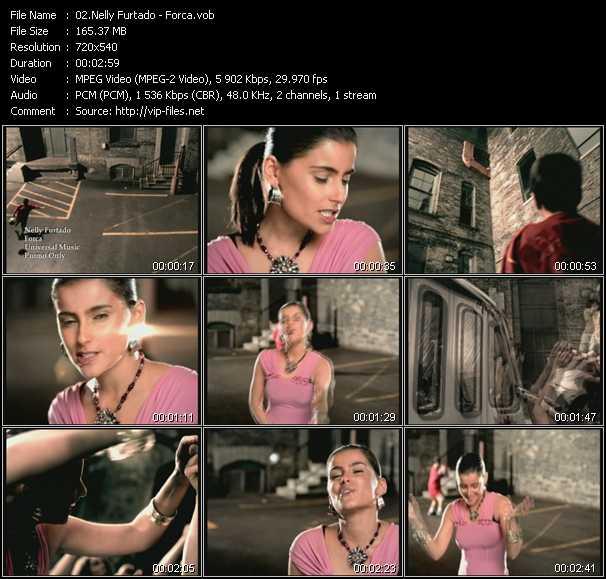 Nelly Furtado video - Forca