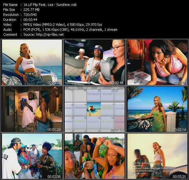 Lil' Flip Feat. Lea video - Sunshine