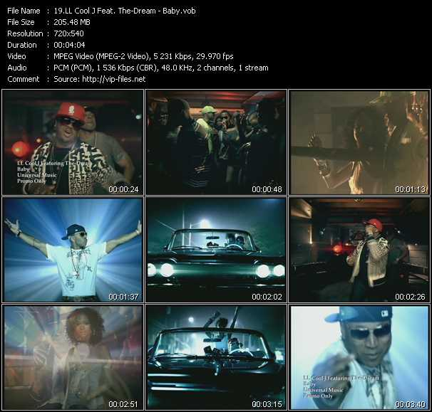 LL Cool J Feat. The-Dream video - Baby