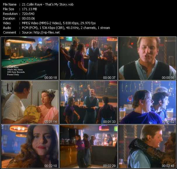 Collin Raye 171 That S My Story 187 Vob File