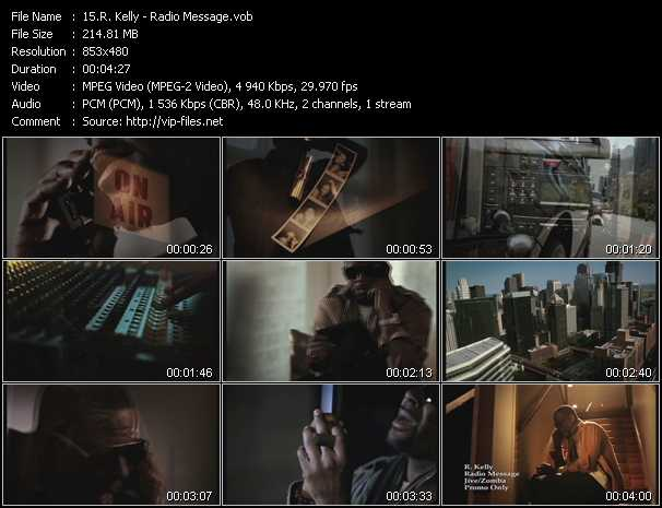R. Kelly video - Radio Message
