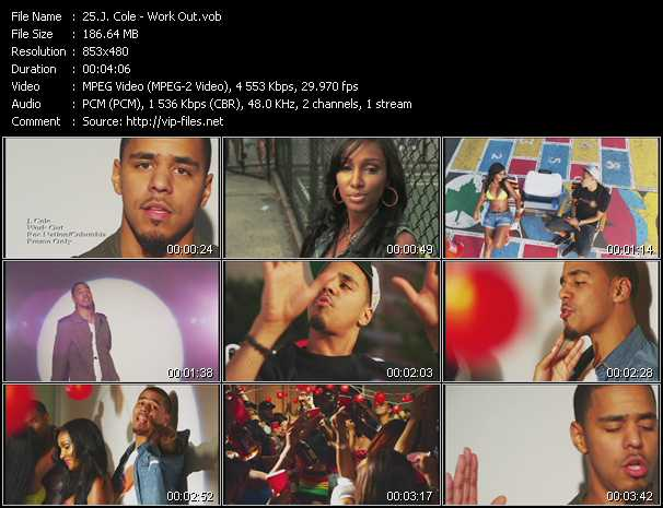 J. Cole video - Work Out