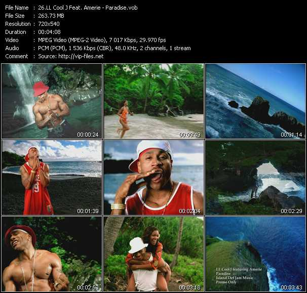 LL Cool J Feat. Amerie video - Paradise