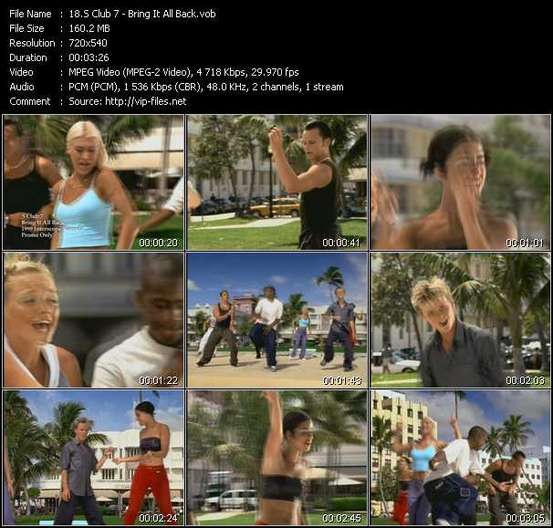 S Club 7 video - Bring It All Back
