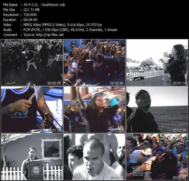 P.O.D. video - Southtown