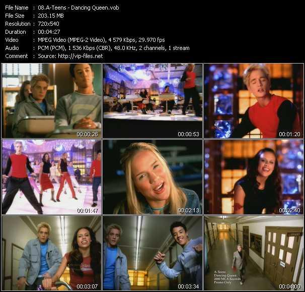 A-Teens video - Dancing Queen