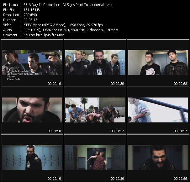 A Day To Remember music video Tezfiles