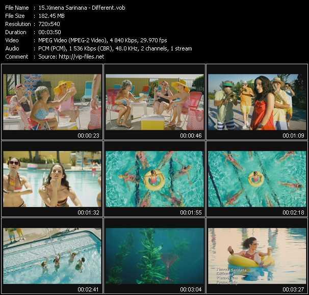 Ximena Sarinana music video Publish2