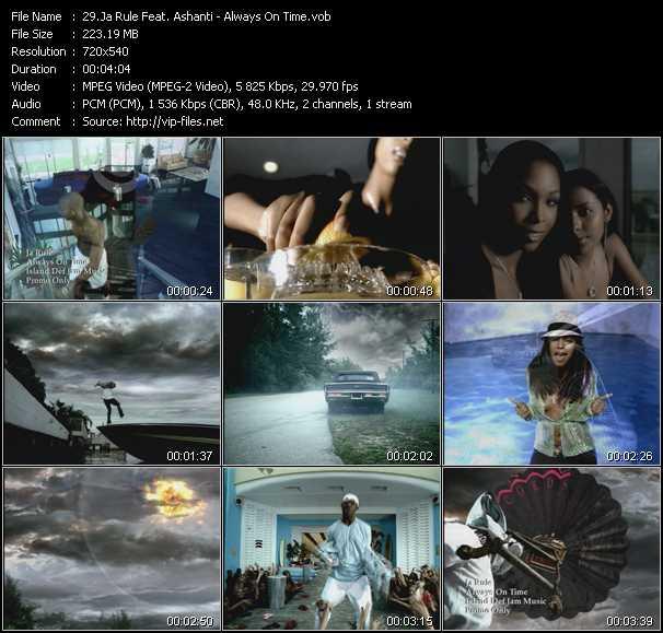 Ja Rule Feat. Ashanti video - Always On Time