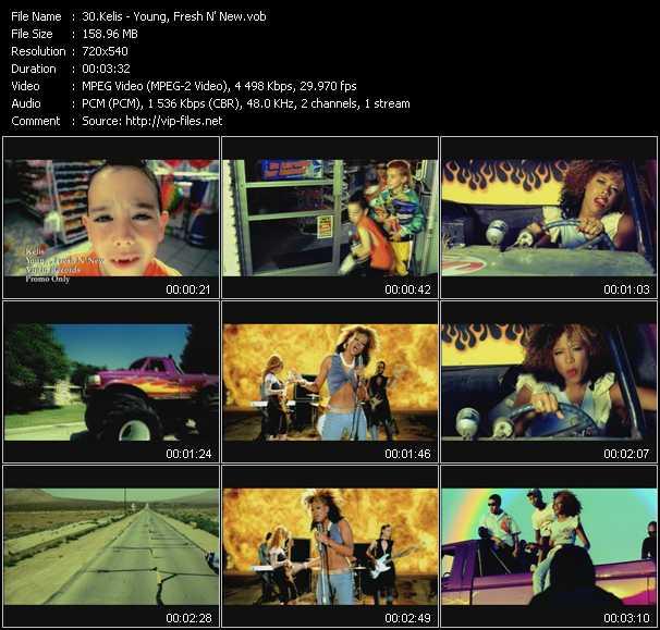 Kelis video - Young, Fresh N' New
