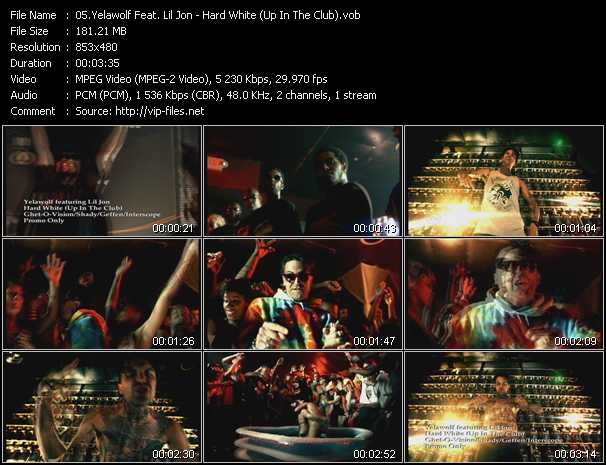 Yelawolf Feat. Lil' Jon video - Hard White (Up In The Club)