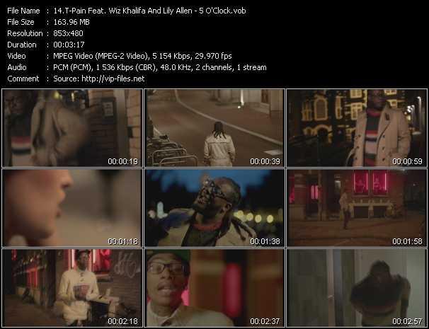 T-Pain Feat. Wiz Khalifa And Lily Allen music video Publish2