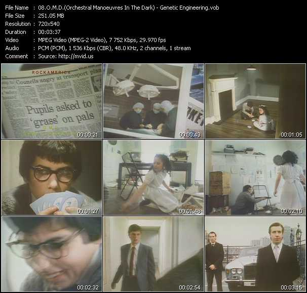 O.M.D. (Orchestral Manoeuvres In The Dark) video - Genetic Engineering