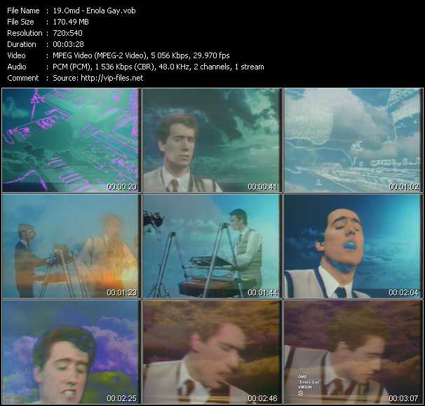 O.M.D. (Orchestral Manoeuvres In The Dark) video - Enola Gay