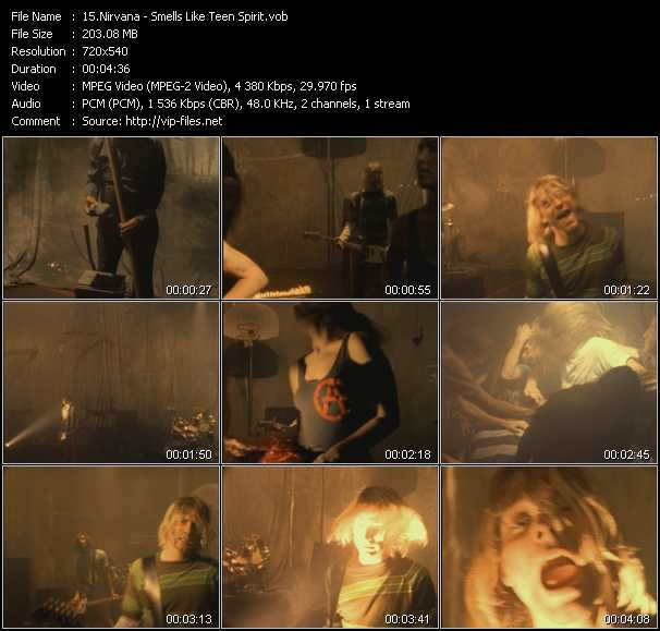 Nirvana video - Smells Like Teen Spirit