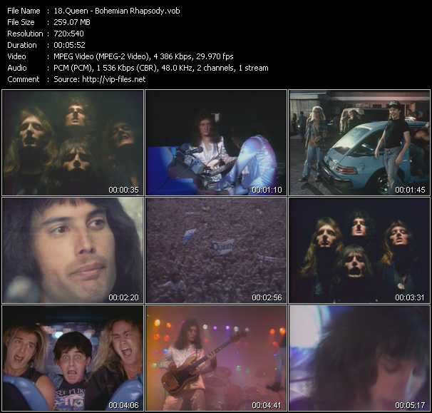 Queen video - Bohemian Rhapsody