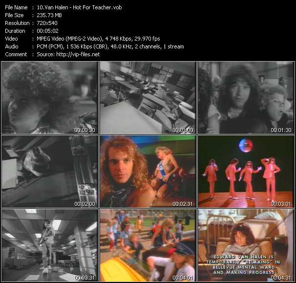 Van Halen music video Publish2