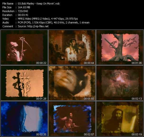 Bob Marley video - Keep On Movin'