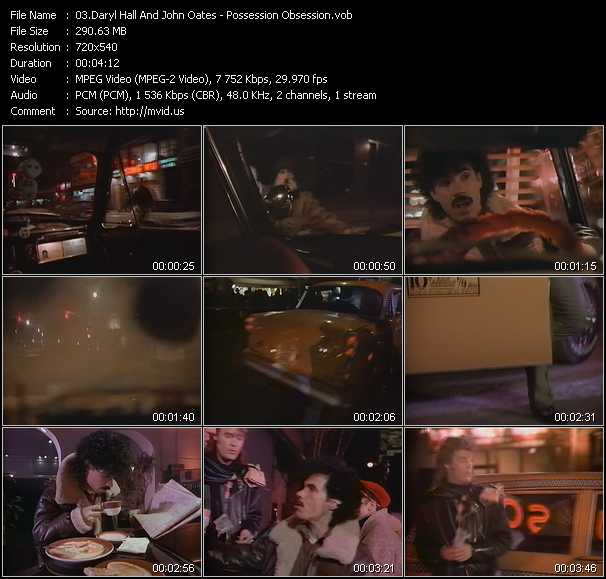 Hall And Oates (Daryl Hall And John Oates) video - Possession Obsession