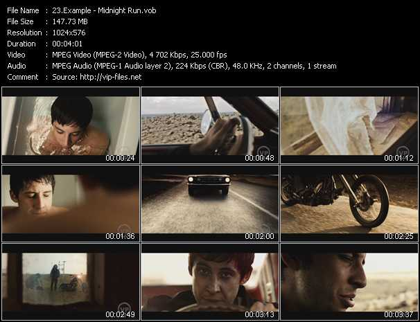 Example video - Midnight Run