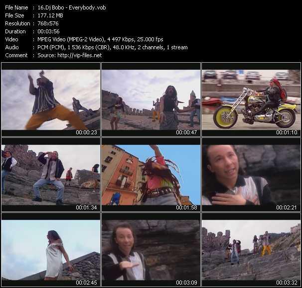 Dj Bobo video - Everybody