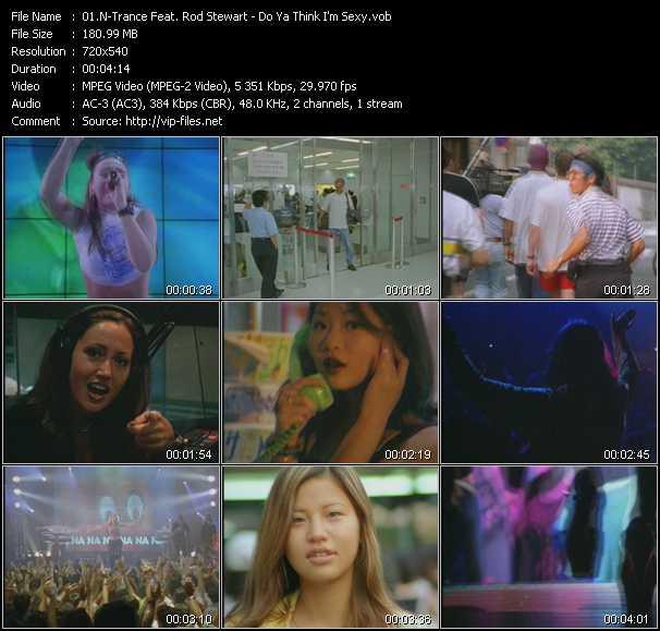 N-Trance Feat. Rod Stewart music video Publish2