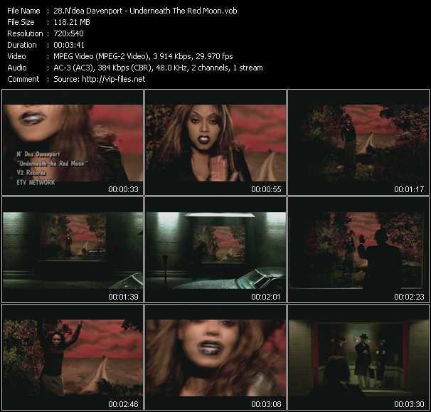 N'dea Davenport music video Publish2