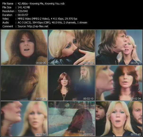 Abba video - Knowing Me, Knowing You
