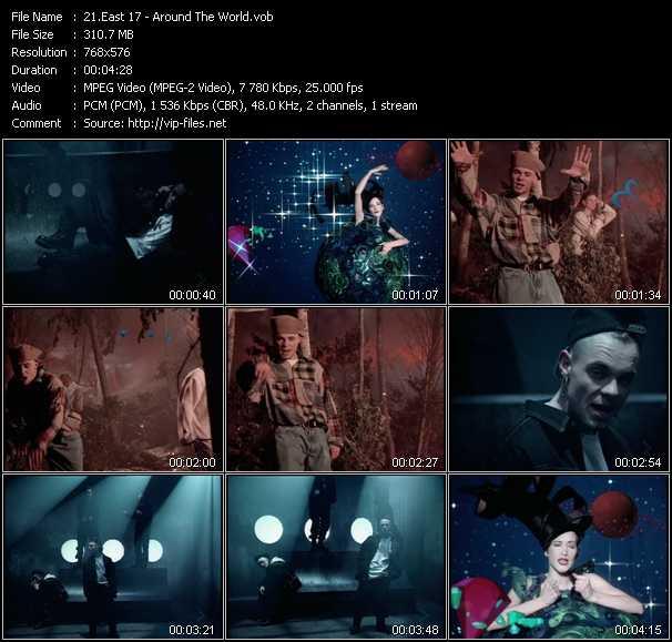 East 17 (E-17) video - Around The World