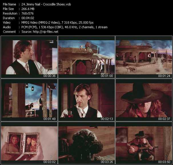 Jimmy Nail video - Crocodile Shoes